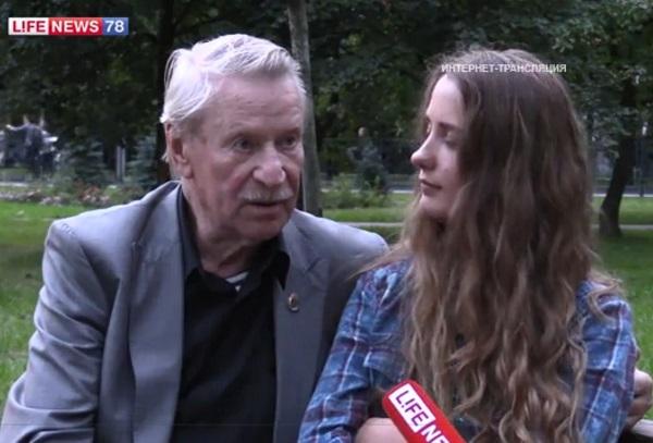 Актер Иван Краско в 84 года женится на своей 24-х летней ученице Наталье Шавель