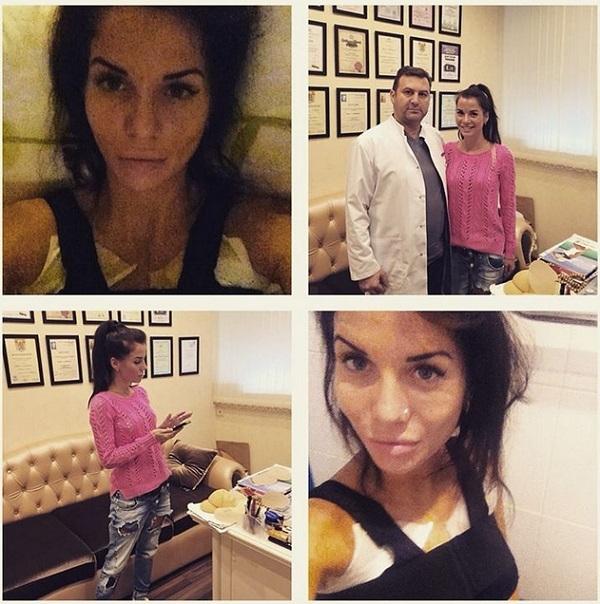 Участница телешоу Дом 2 Саша Гозиас увеличила себе грудь сразу на три размера