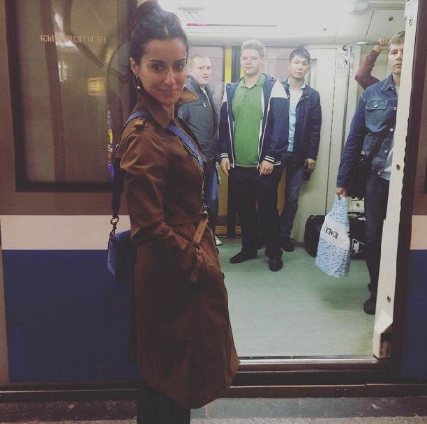 Тина Канделаки оказалась в московском метро