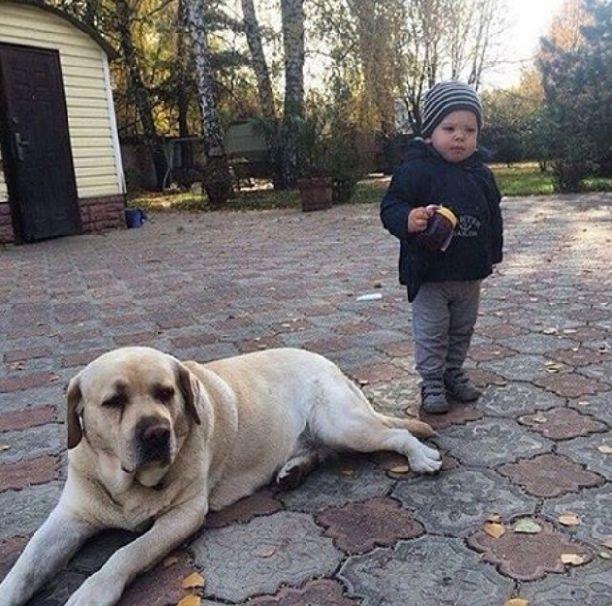 В сети появилась редкая фотография Дмитрия Шепелева и сына Жанны Фриске