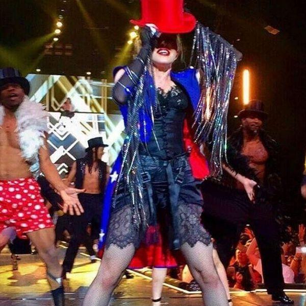 Мадонна поделилась секретом красоты своего тела