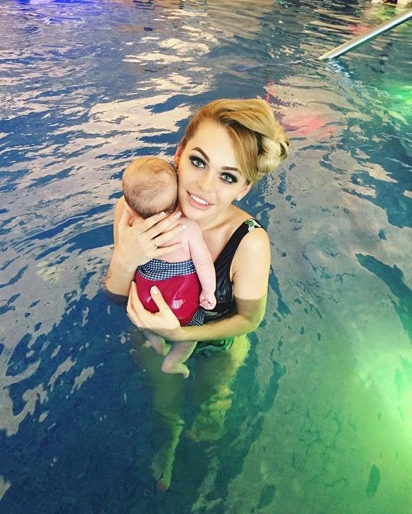 Анна хилькевич беременна с ребёнком