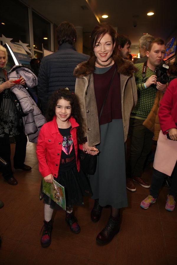 Гоша Куценко вывел в свет двухлетнюю дочь Евгению