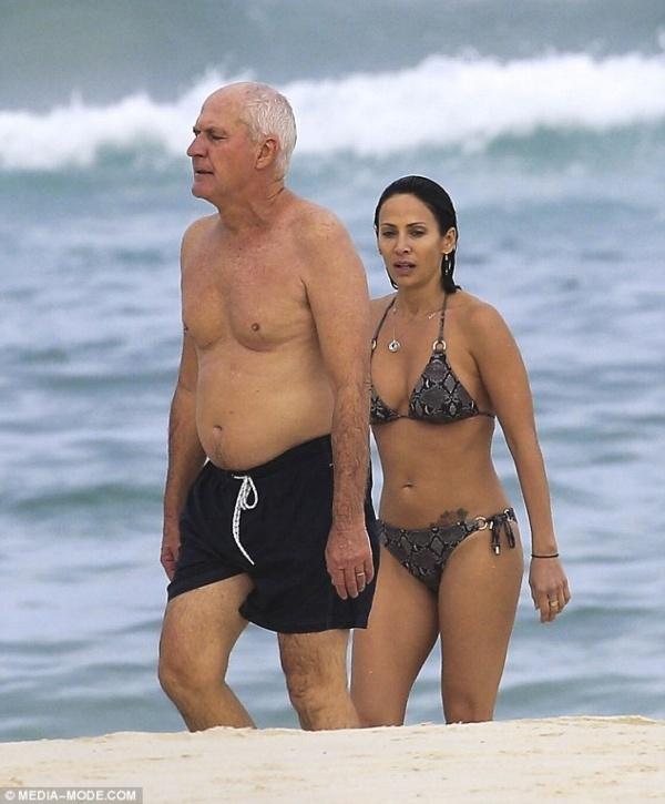 Папарацци застукали Натали Имбрулья и её нового женатого любовника в Сиднее