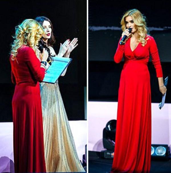 Ксения Бородина выбрала неудачный наряд и продемонстрировала всем свои свисающие бока