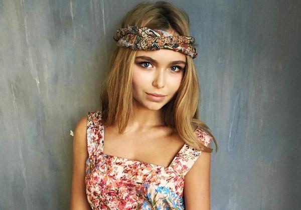 Стефания Маликова обзавелась голубыми волосами