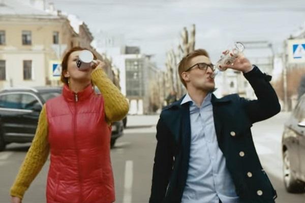 смотреть онлайн клип ленинград питер пить