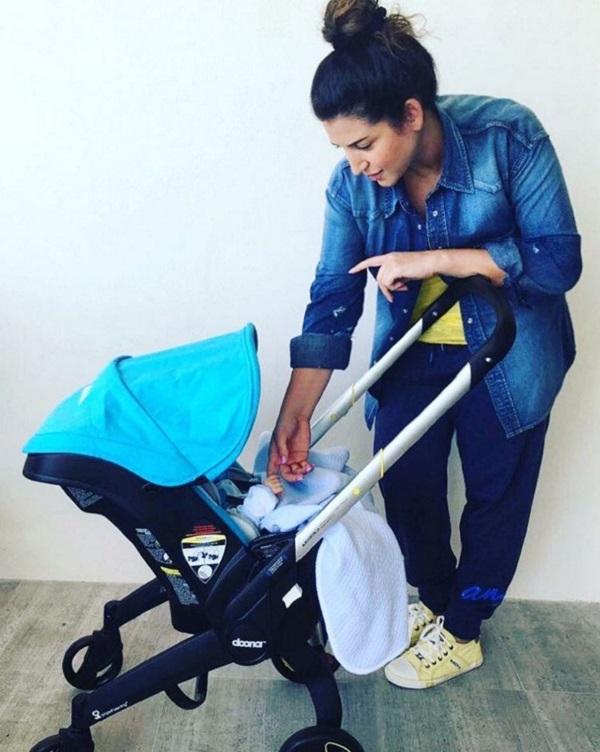 После рождения третьего ребенка Жасмин удалось избежать серьезного набора веса