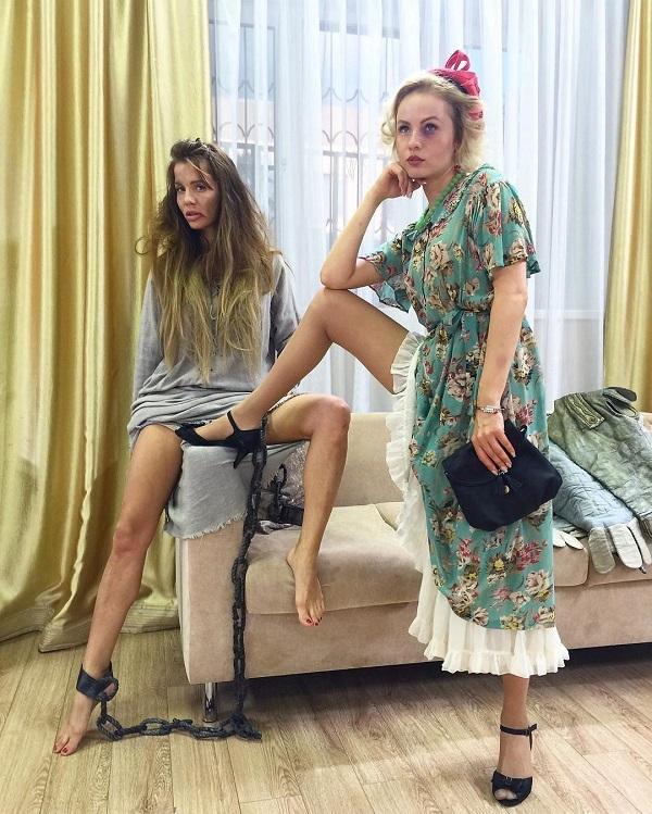 Отдых - Юлия Просякова удивила «голым» нарядом