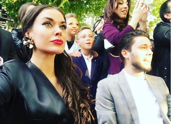 Таня Терешина появилась на мероприятии в компании бывшего мужа