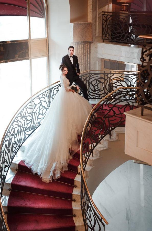 Анна Грачевская вышла замуж в очень откровенном платье