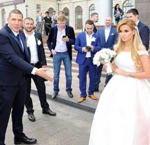 фото свадебное платье бородиной