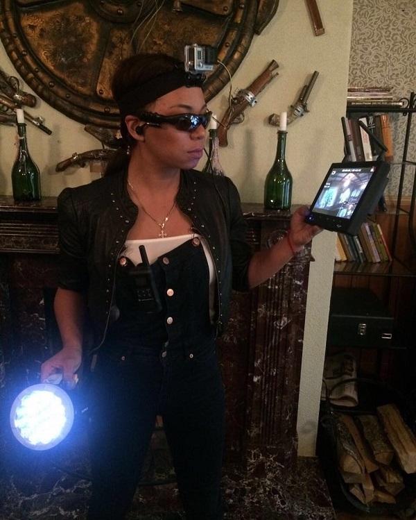 Либерж Кпадону стала охотницей за привидениями