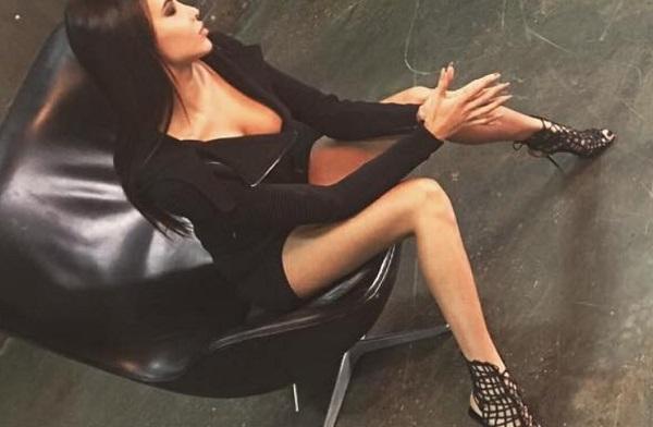 Анастасия Решетова снялась в эротической фотосессии