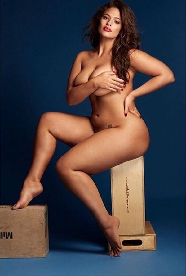 Эшли грэм модель фото голая