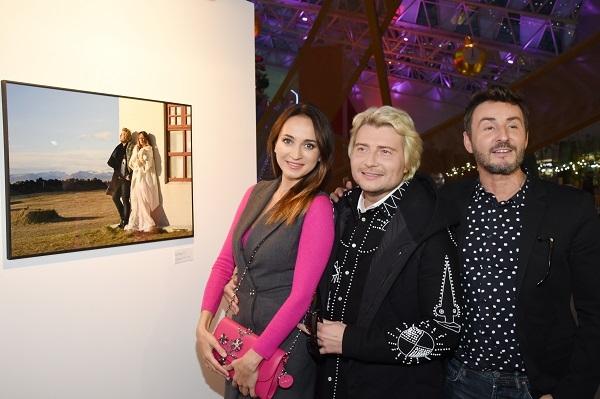 Николай Басков открыл выставку своих фотографий