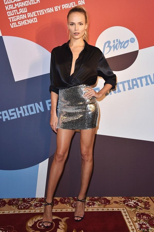 На неделе моды в Париже Ирина Шейк затмила Ким Кардашьян