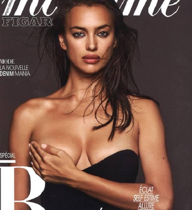 Ирина Шейк навсе 100% обнажилась для французского журнала