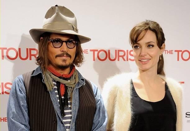 Анджелина Джоли иДжонни Депп стали новой звездной парой