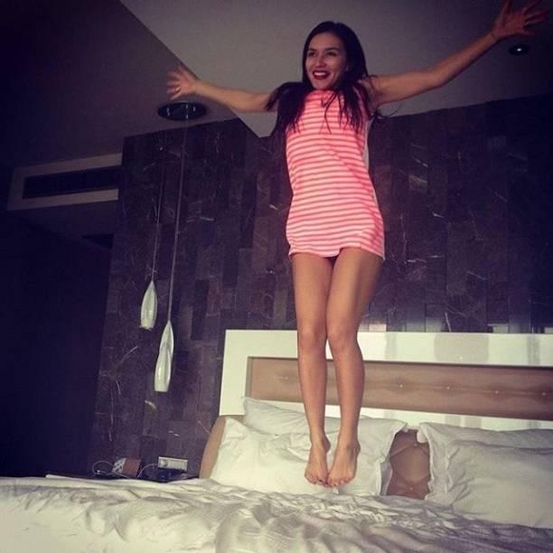 Обнаженная Ольга Серябкина пожелала всем доброго утра