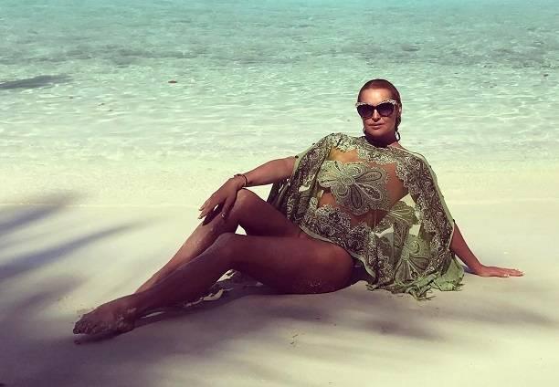Анастасия Волочкова запретила комментировать свою очередную горячую фотосессию с Мальдив