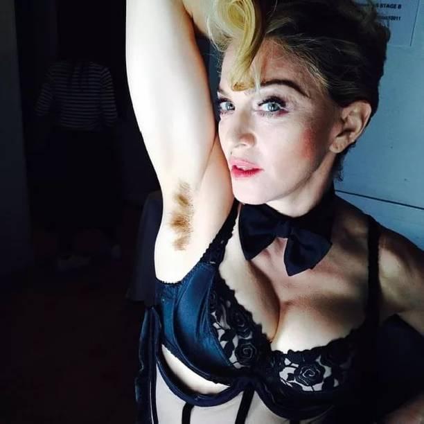 Дочь Мадонны Лурдес снова сверкнула небритыми подмышками