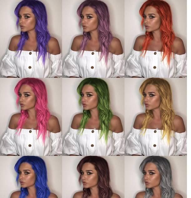 Ксения Бородина удивила экстремальным цветом волос
