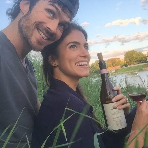 Артист  Сомерхолдер стал отцом: супруга звезды «Дневников вампира» родила дочь
