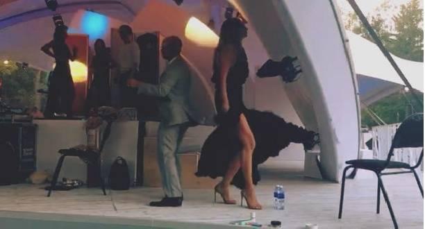Екатерина Варнава и Дмитрий Хрусталев зажгли на танцполе