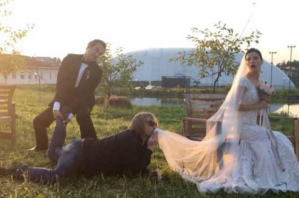 Свадьба лизы боярской в фото