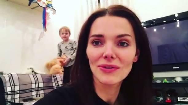 Редкостный эпизод: Елизавета Боярская показала 5-летнего сына Андрея