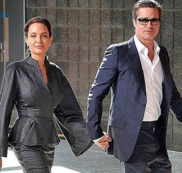 Брэд Питт иАнджелина Джоли договорились обопеке над детьми