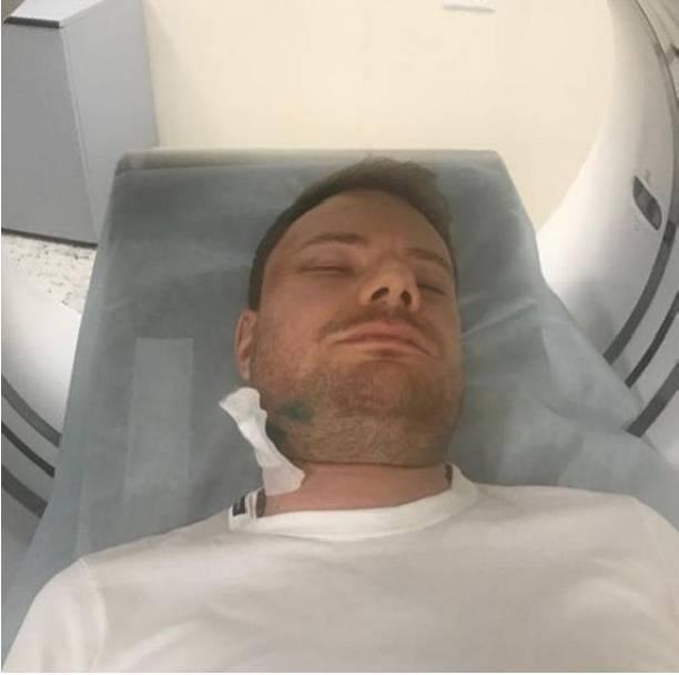 DJ Smash показал снимок из больничной палаты после избиения
