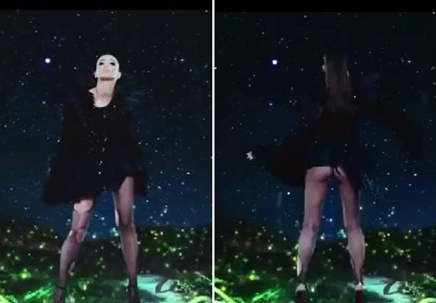 Голая Ольга Бузова появилась в рекламном ролике
