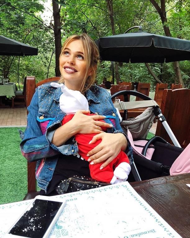 Анна Хилькевич быстро сбросила вес после родов