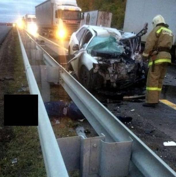 Видео смертельного ДТП с участием грузовика Ани Лорак попало в Сеть