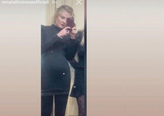 Фото беременной Ренаты Литвиновой появилось в Сети. ОПРОС