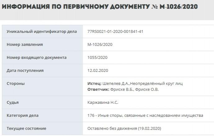 Дмитрий Шепелев и Владимир Фриске подали друг на друга в суд