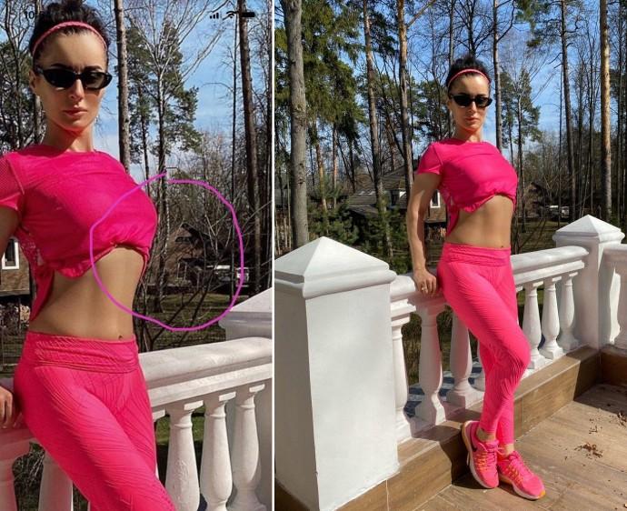 Ксения Собчак уличила Тину Канделаки в фотошопе, спровоцировав очередную склоку