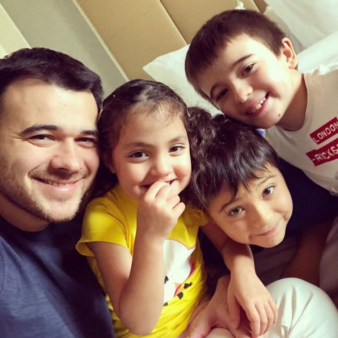 Эмин Агаларов уже мечтает о пятом ребенке