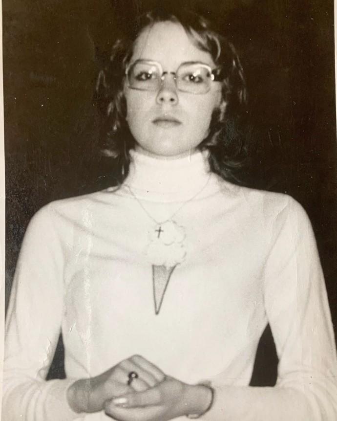 """""""Она похожа на монахиню"""": 62-летняя Шэрон Стоун показала,как выглядела до популярности"""