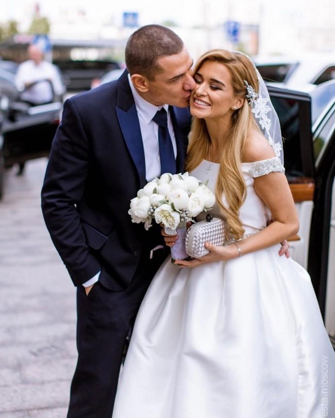 Бородина с мужем отметили пятую годовщину свадьбы