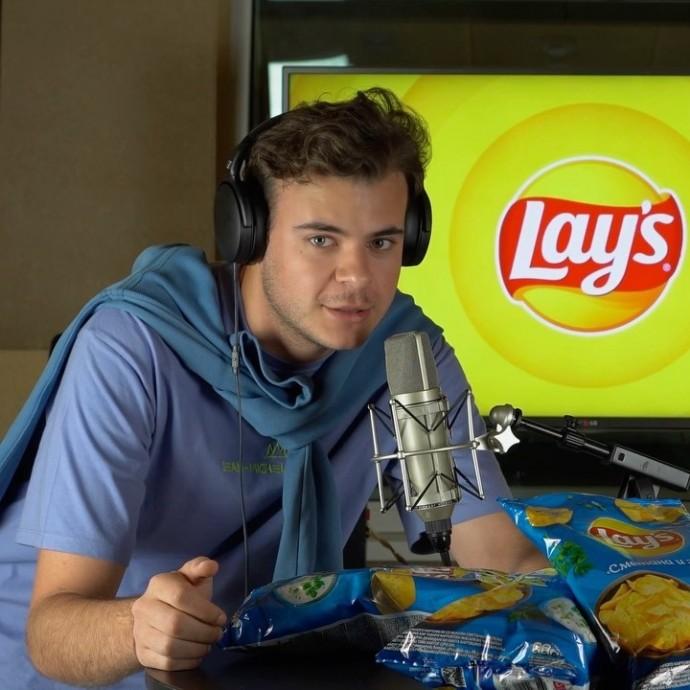 Послушай, как вкусно: российские блогеры заценили натуральную картошку Lay's