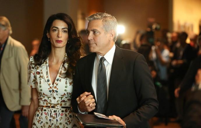 Джордж Клуни и Амаль Алауддин решили пожить раздельно