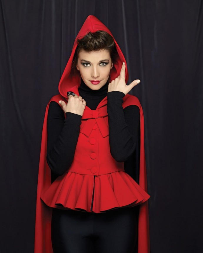 """""""Daring little red riding hood!"""": Natalia Oreiro appeared in an unexpected way"""