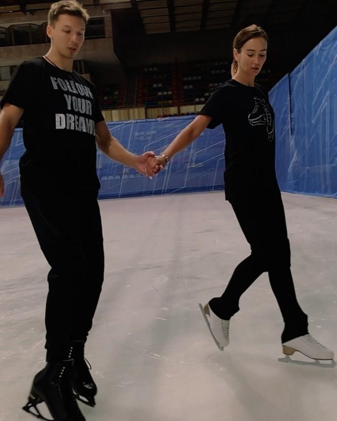 "Olga Buzova was ""too big"" for figure skating"