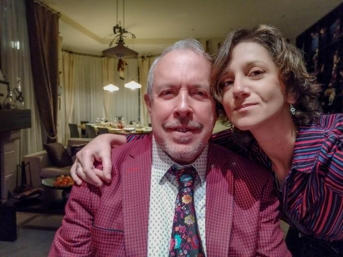 Супруга Андрея Макаревича с юмором высказалась об их разнице в возрасте