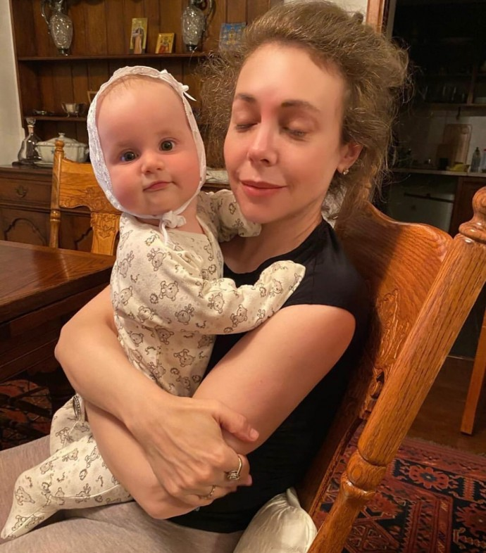 Bozena Rynska and her daughter contracted coronavirus