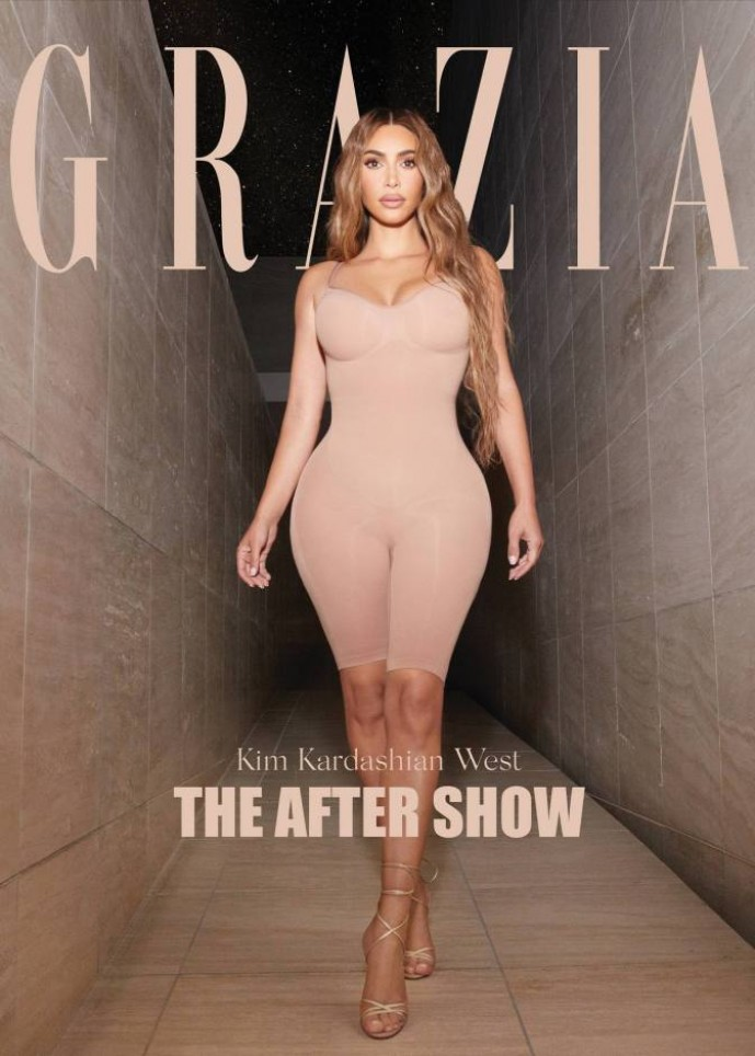 Kim Kardashian tried on the image of Malvina and remembered how she changed the sheets to her sick husband