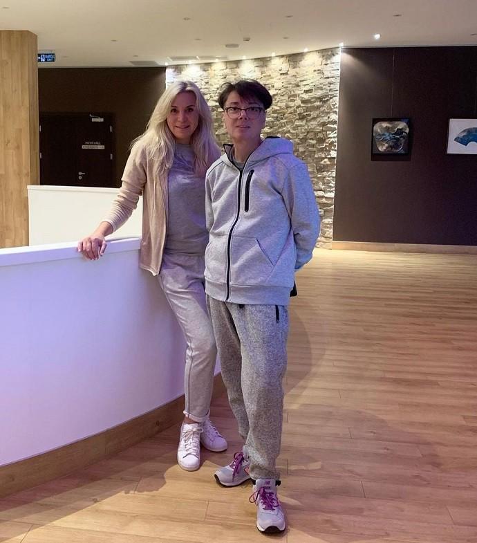 Валентин Юдашкин отмечает день рождения в медицинском центре